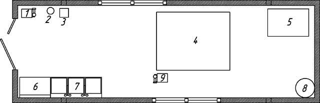 2. Схема размещения и состав